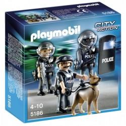 Unidad especial de policía