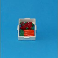 Bandeja con verduras