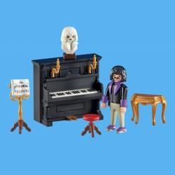 Pianista con Piano