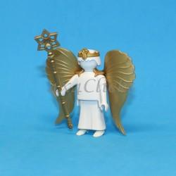 Corona, alas y bastón