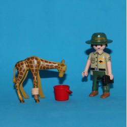 Cuidador de animales salvajes