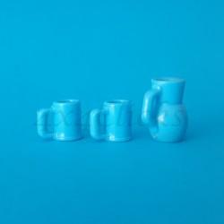 Jarra y dos vasos