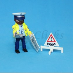 Playmobil Policía de Tráfico