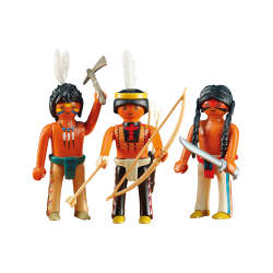 Pack 3 Indios Sioux
